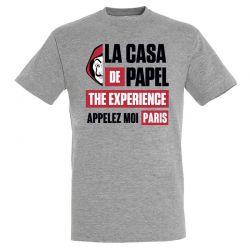 T-shirt GRIS Appelez Moi Paris