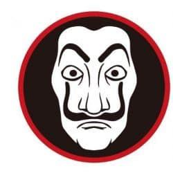 Stickers Tête de Dali